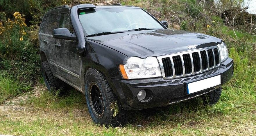 Snorkel Roca Silva Jeep Grand Cherokee CRD II