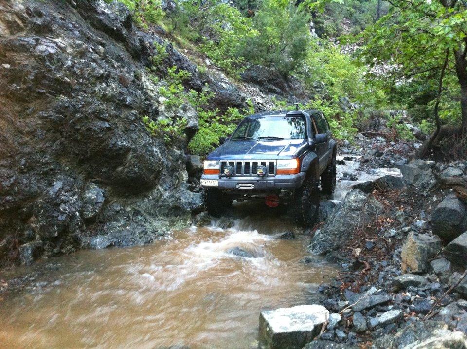 Snorkel Roca Silva Jeep Grand Cherokee V8 I