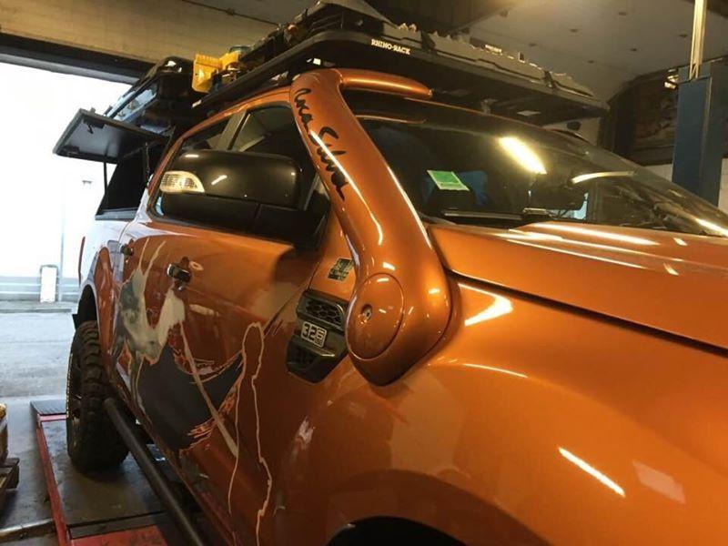 Snorkel Roca Silva Ford Ranger