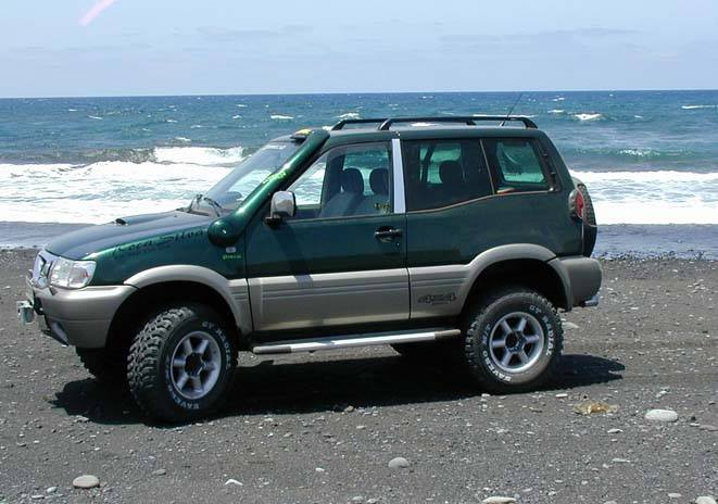 Snorkel Roca Silva Nissan Terrano II