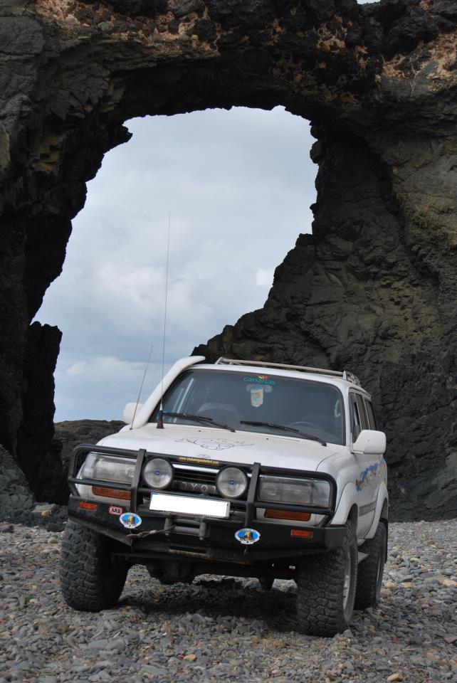 Snorkel Roca Silva Toyota HDJ80